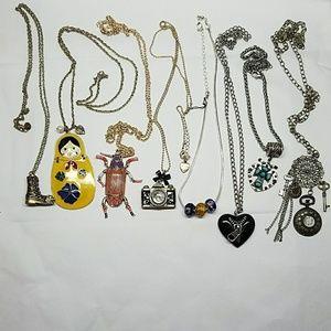 8  Fun and Random Long Fashion Necklaces